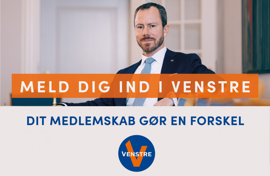 Dit medlemskab gør en forskel for, hvad velfærd er i Danmark.