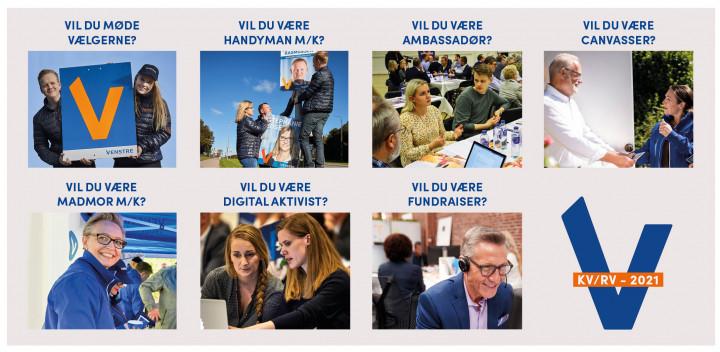 Bliv frivillig for Venstre og gør en forskel til KV21 og RV21.