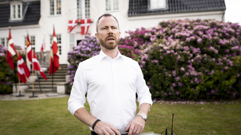 Til Grundlovsdag den 5. juni 2021 holdt Venstres formand Jakob Ellemann-Jensen tale.