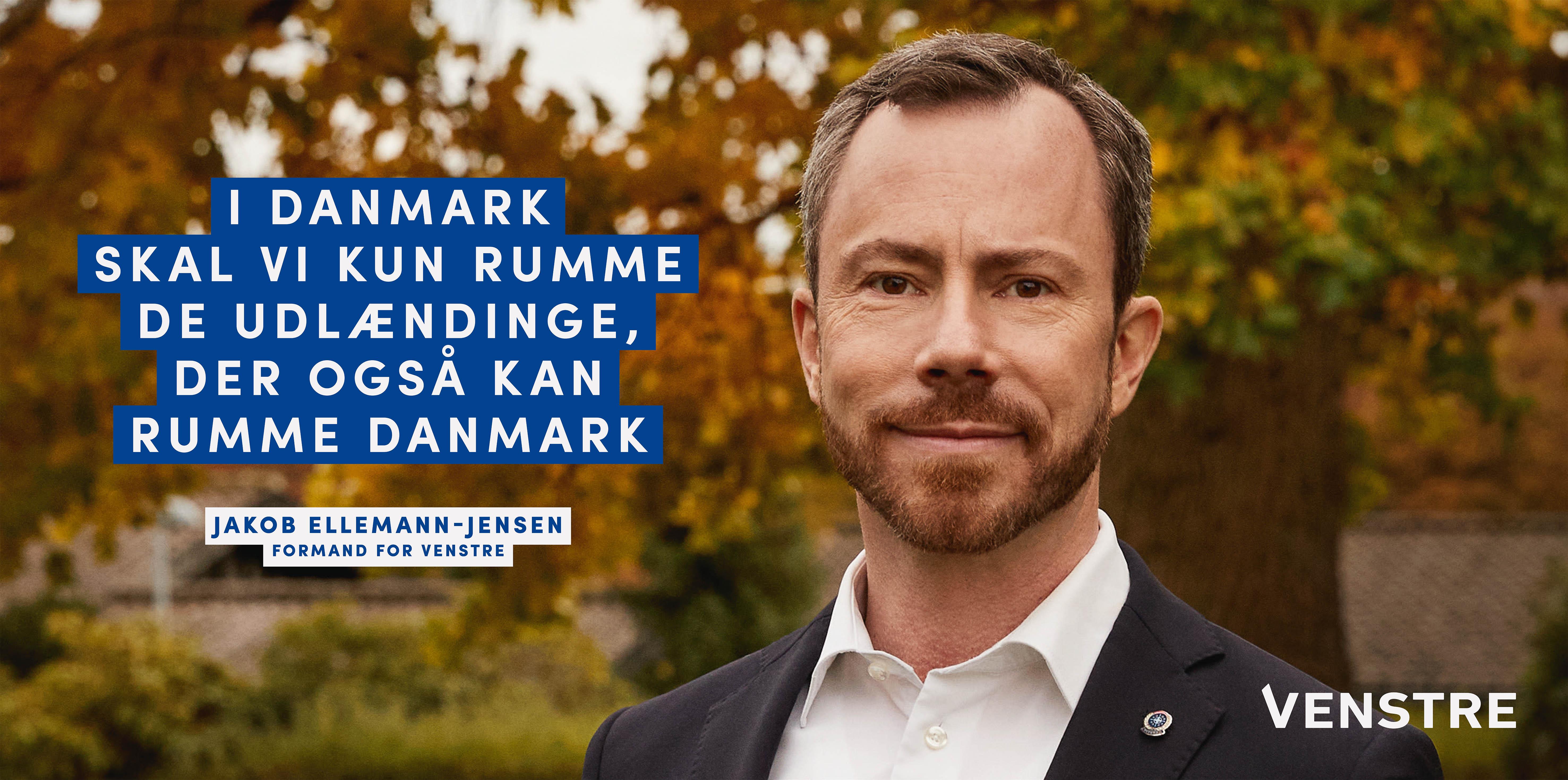 Venstre ønsker en stram og konsekvent udlændingepolitik med plads til dem, der vil fællesskabet.