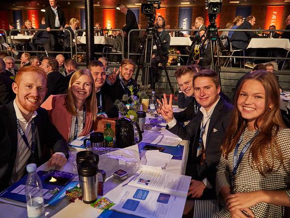 Medlemmer af Venstres Ungdom