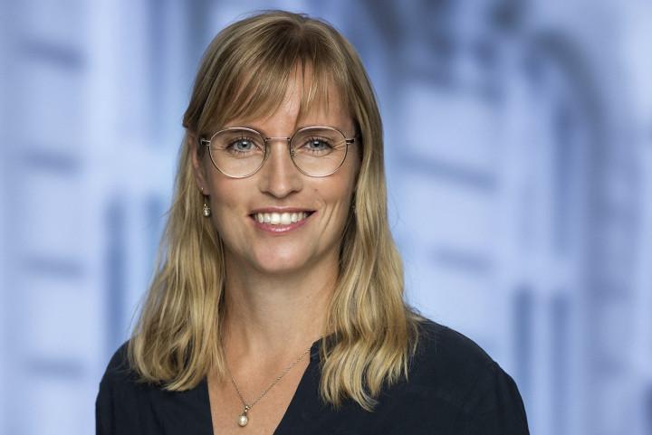 Stephanie Loses tale ved det ekstraordinære landsmøde i 2021.