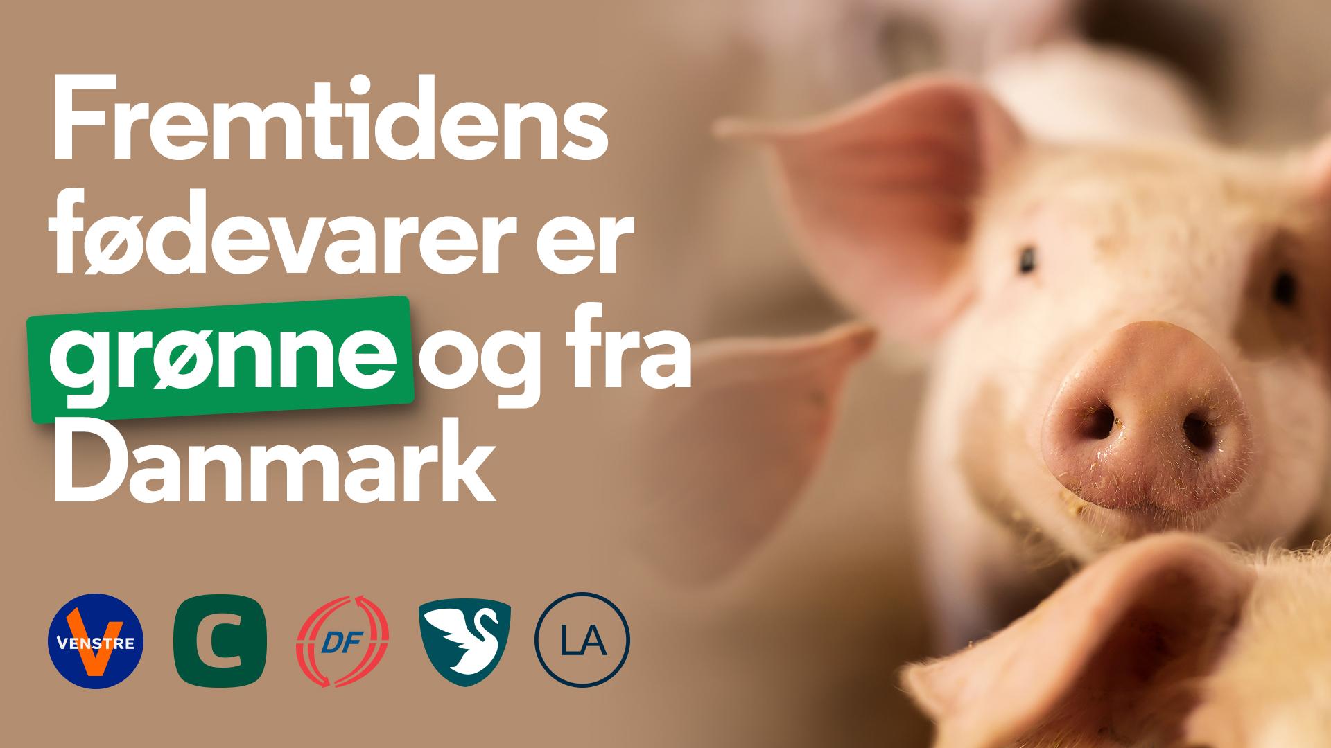 Venstres politiske udspil vil sikre, at fremtidens fødevarer er grønne og fra Danmark.